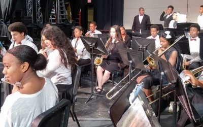 "Concert Band Earns ""Excellent"" at MPA"