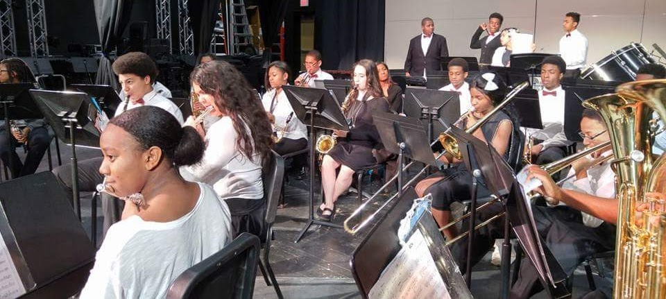 """Concert Band Earns """"Excellent"""" at MPA"""